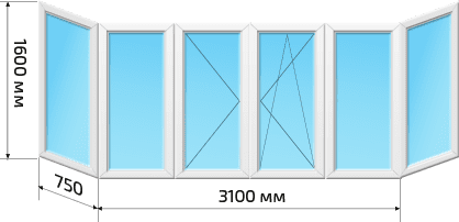 Балкон Хрущевка 1